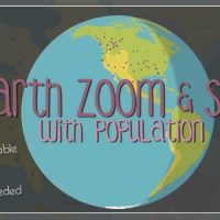 Videohive – Earth Zoom and Spin with Population Template 9768386 – Free Download