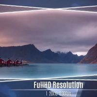 Glass and Frame Slideshow – After Effects Templates