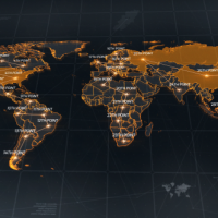 Videohive World Map 18811993 Free Download