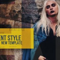Event Style – After Effects Templates