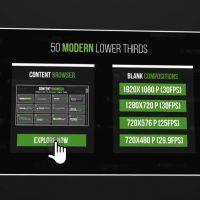 50 Modern Lower Thirds After Effects Templates