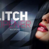Multipurpose Glitch Opener After Effects Templates