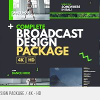 VIDEOHIVE COMPLETE BROADCAST DESIGN PACKAGE