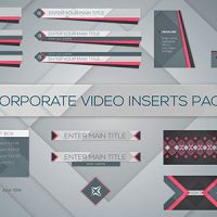 Videohive – Corporate Video Inserts Pack 7358156 – Free Download