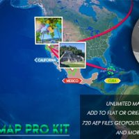 VIDEOHIVE GLOBE MAP PRO KIT FREE DOWNLOAD