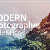 VIDEOHIVE MODERN PHOTOGRAPHER SLIDESHOW OPENER