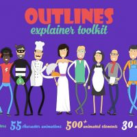 Videohive – Outlines Explainer Toolkit 19498699 – Free Download