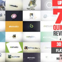 VIDEOHIVE QUICK LOGO REVEAL PACK – AFTER EFFECTS PROJECT