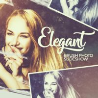 VIDEOHIVE ELEGANT BRUSH PHOTO SLIDESHOW