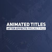 Videohive – Animated Titles 2 19593837 – Free Download
