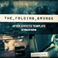 VIDEOHIVE THE FOLDING GRUNGE FREE DOWNLOAD