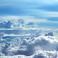 Flying Above the Clouds 3 (Stock Footage)