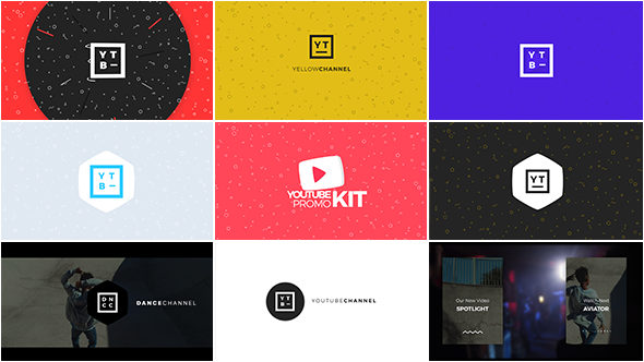 VIDEOHIVE YOUTUBE PROMO KIT FREE DOWNLOAD - Free After Effects