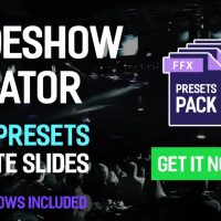 Slideshow Creator – 200+ Presets Pack After Effects Templates