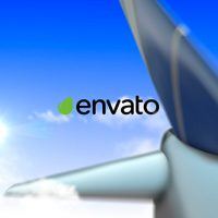 VIDEOHIVE AIRPLANE LOGO FREE DOWNLOAD