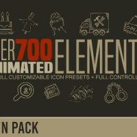 Videohive – Hand Drawn Elements Pack 17449750 – Free Download