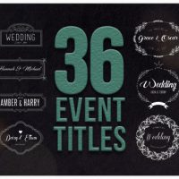 Videohive – 36 Event Titles 19513190 – Free Download