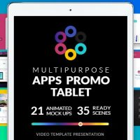 Videohive – Multipurpose Apps Promo for Tablet 19319344 – Free Download