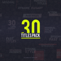 VIDEOHIVE 30 TITLES PACK FREE DOWNLOAD