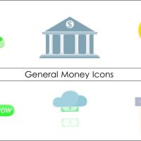 80+ Animated Money Icons Pack After Effects Templates