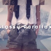 Glassy Parallax After Effects Templates
