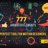 SHAPE ELEMENTS V2.0 7826596 – AFTER EFFECTS PROJECT (VIDEOHIVE)