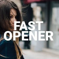Typography Opener – After Effects