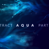 Videohive – Abstract Aqua Particle – 19650564