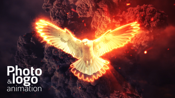 videohive fire explosion logo amp photo animation free