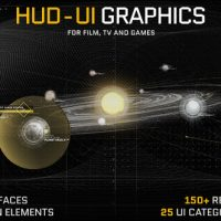 VIDEOHIVE HUD – UI GRAPHICS FOR FILM, TV AND GAMES