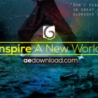 Audiojungle 970240 inspire a new world