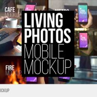 VIDEOHIVE LIVING PHOTOS MOBILE MOCKUP