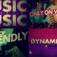 Videohive Music Promo 19314909 Free Download