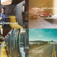 VIDEOHIVE PARALLAX TIMELINE SLIDESHOW
