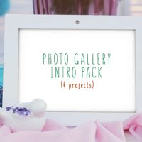 VIDEOHIVE PHOTO GALLERY INTRO PACK FREE DOWNLOAD