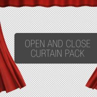 VIDEOHIVE CURTAIN OPEN AND CLOSE PACK FREE DOWNLOAD