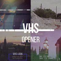 VIDEOHIVE VHS OPENER // MODERN GLITCH SLIDESHOW