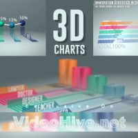Videohive – Smart 3D Charts – 19632282