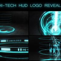 Videohive Hi-tech HUD Logo Reveal 17570074