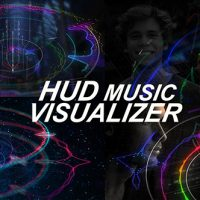 VIDEOHIVE HUD MUSIC VISUALIZER FREE DOWNLOAD