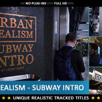 VIDEOHIVE URBAN REALISM – SUBWAY INTRO FREE DOWNLOAD