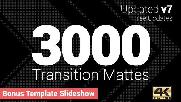 VIDEOHIVE ULTIMATE TRANSITION MATTES PACK V7 - Free After