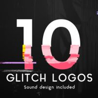 VIDEOHIVE GLITCH LOGO PACK FREE DOWNLOAD