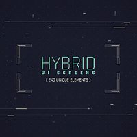 VIDEOHIVE HYBRID UI SCREENS FREE DOWNLOAD
