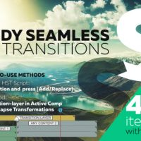 VIDEOHIVE HANDY SEAMLESS TRANSITIONS | PACK & SCRIPT V3.3