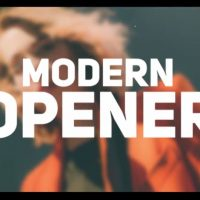 MODERN OPENER 34225 – AFTER EFFECTS TEMPLATE (MOTION ARRAY)