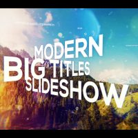 VIDEOHIVE BIG TITLES SLIDESHOW FREE DOWNLOAD
