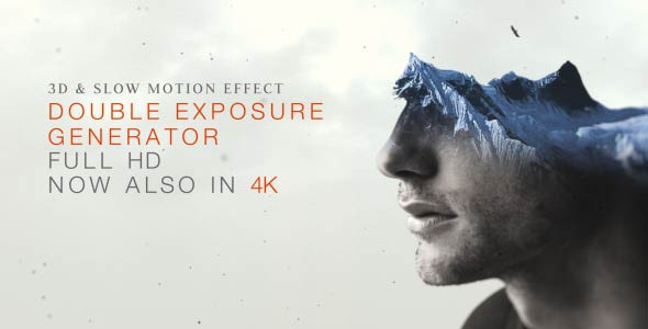 VIDEOHIVE DOUBLE EXPOSURE GENERATOR V2 - AFTER EFFECTS TEMPLATES