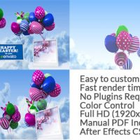 VIDEOHIVE EASTER BALLOONS FREE DOWNLOAD