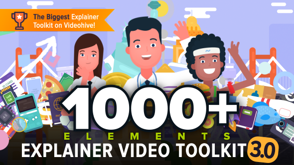 Videohive Explainer Video Toolkit 3 Free Download Free